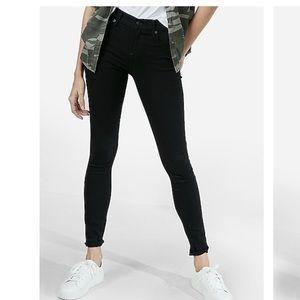 Express Low rise Black jean leggings